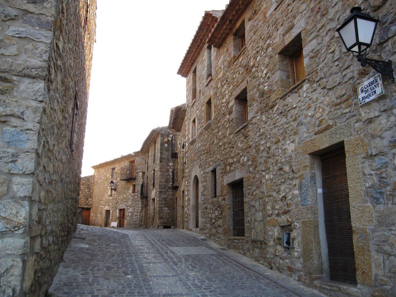 Calle de Culla. Autor, Manuel Coronado Gil