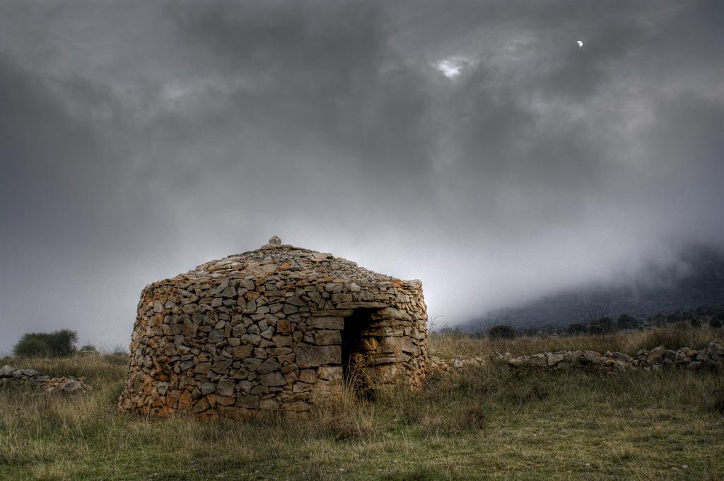 Refugio en Vistabella. Autor, Vicente Villamón