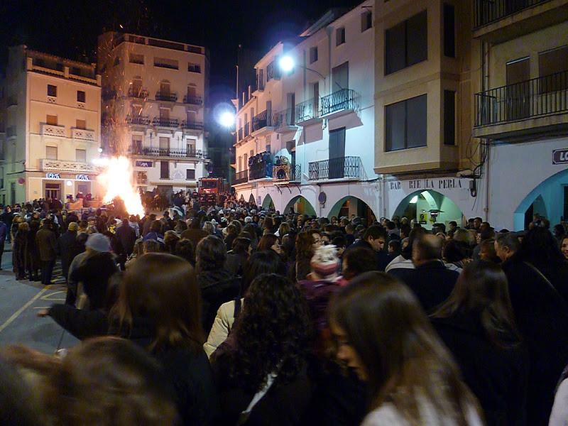 Fiestas de San Antonio Abad en Llucena. Autor, Hotel Llucena