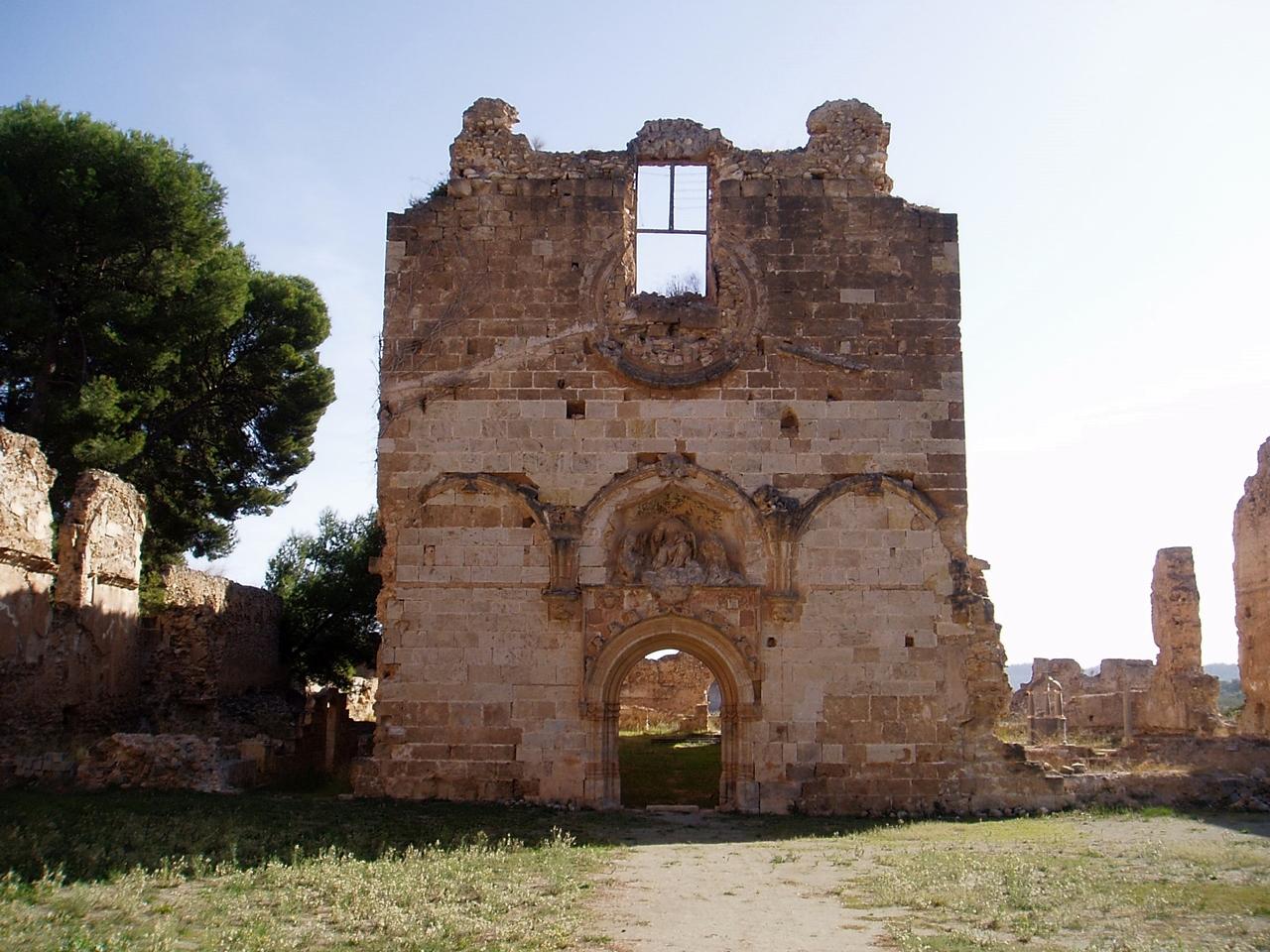 Fachada de la Cartuja de Vall de Crist. Autor, AdelosRM