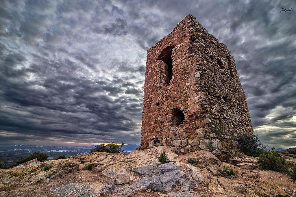 Torre de l'Agüelet. Castillo de Almenara. Autor, Jesús Barreda