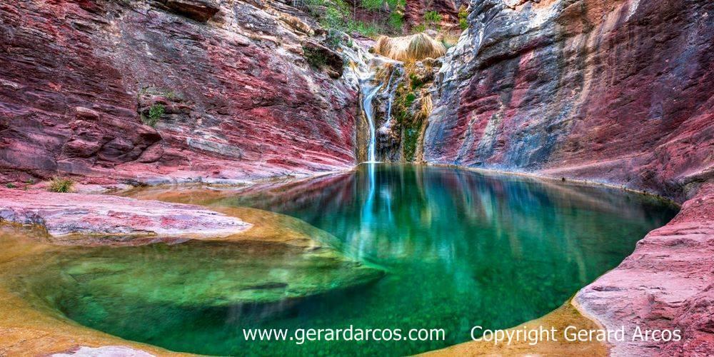ficha 1000x500 Pozo Negro Fuentes Ayódar Naturaleza familiar turismo Castellón en Ruta con Copyright y web gerard arcos