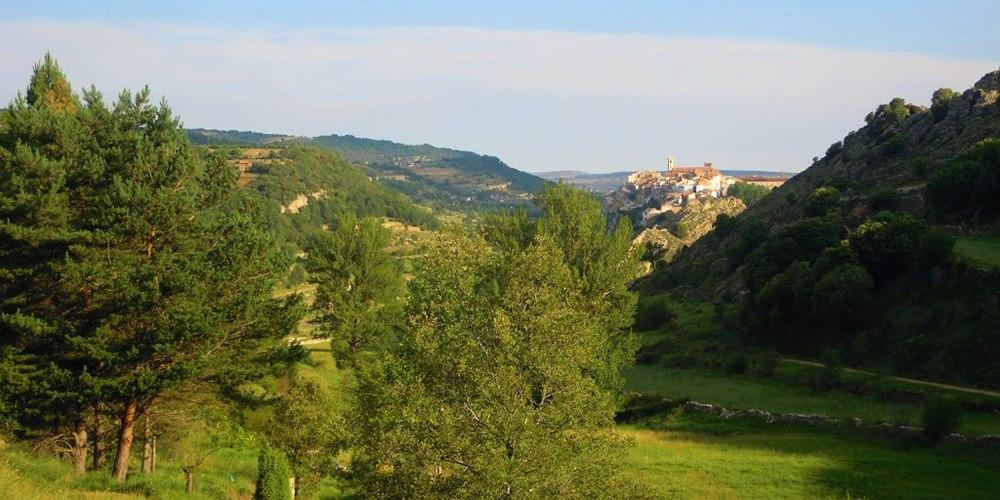 ficha 1000x500 Vilafranca Villafranca del Cid ruta naturaleza Castellón Comunidad Valenciana turismo familiar senderismo