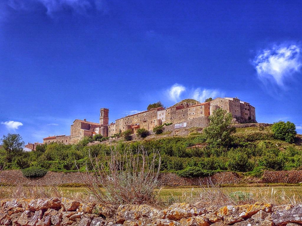 Vista de Culla. Autor, Joaquin Pons Sampedro