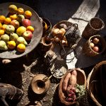 banquete comida medieval Castellón