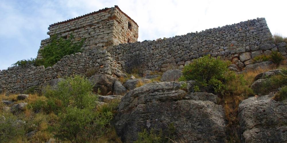 Castillo Buey Negro Bou Negre Castellón ruta senderismo
