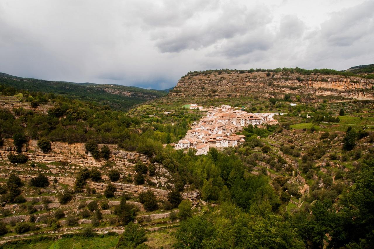 Vista de Vallibona