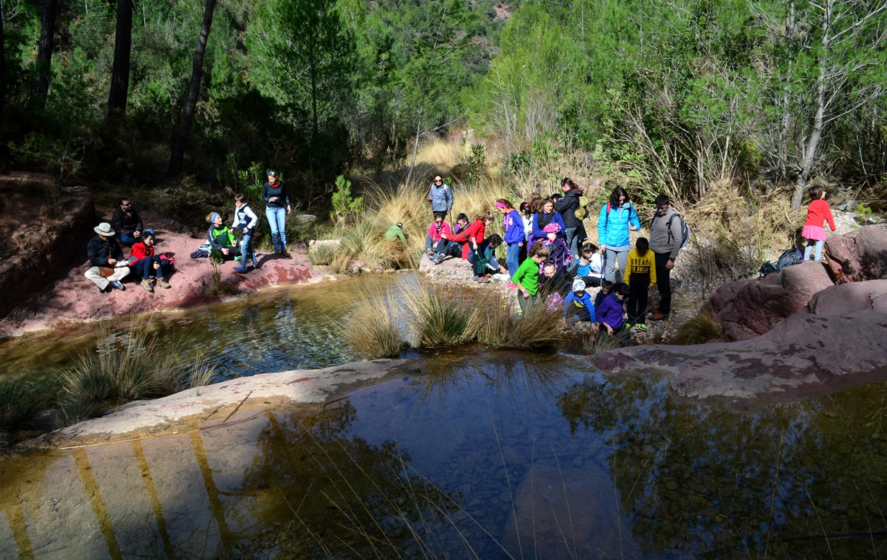 Ruta al río Chico y pozo negro de Fuentes de Ayódar 2