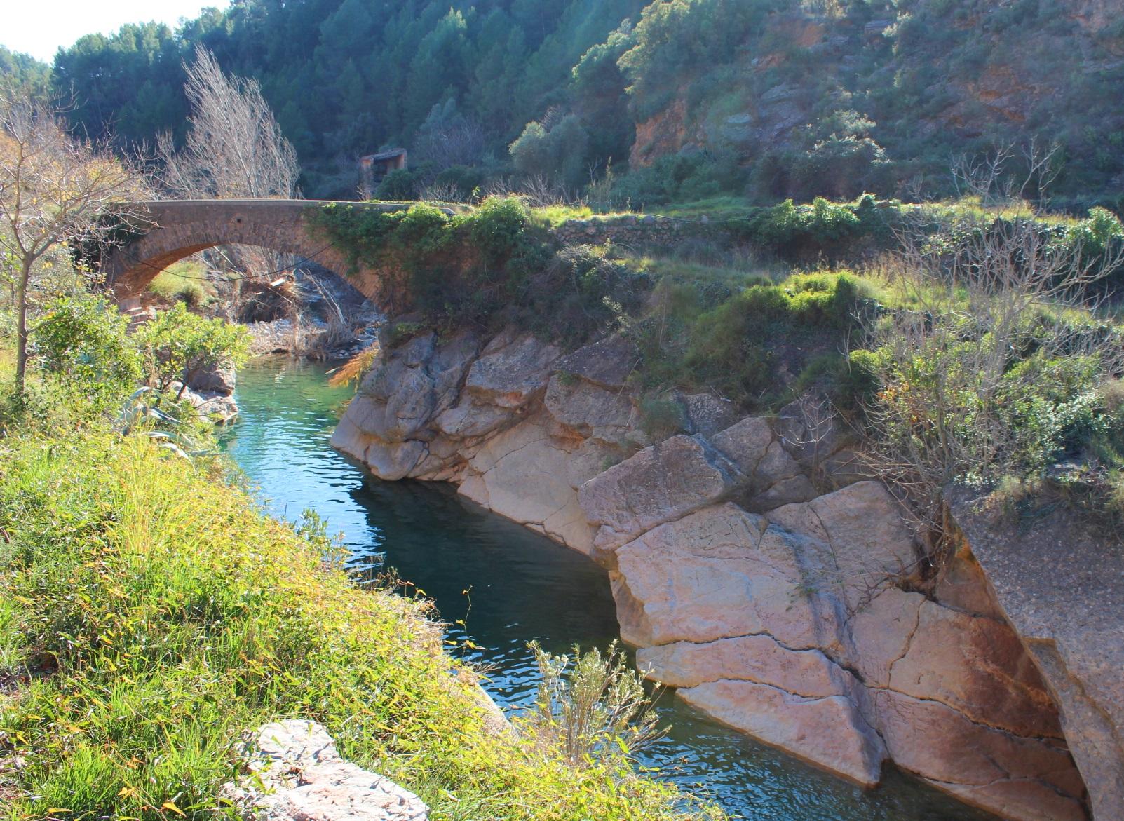 Ruta Molinos de agua Lucena del Cid