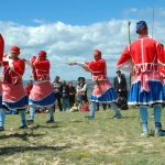 Danza guerrera Todolella Castellón Comunidad Valenciana