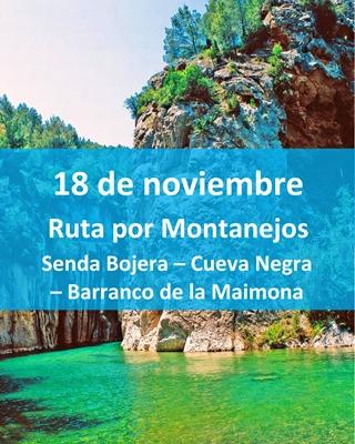 Montanejos-Castellón-ruta