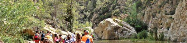 Ruta acuática por las pozas del río Mijares en Torrechiva