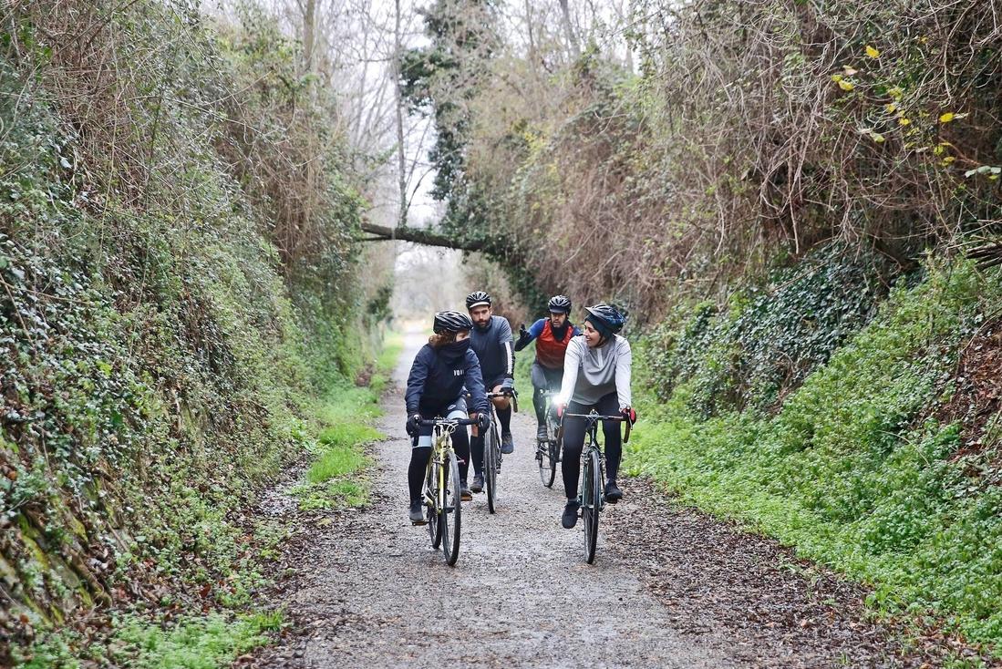 via verde ojos negros ruta bicicleta castellon