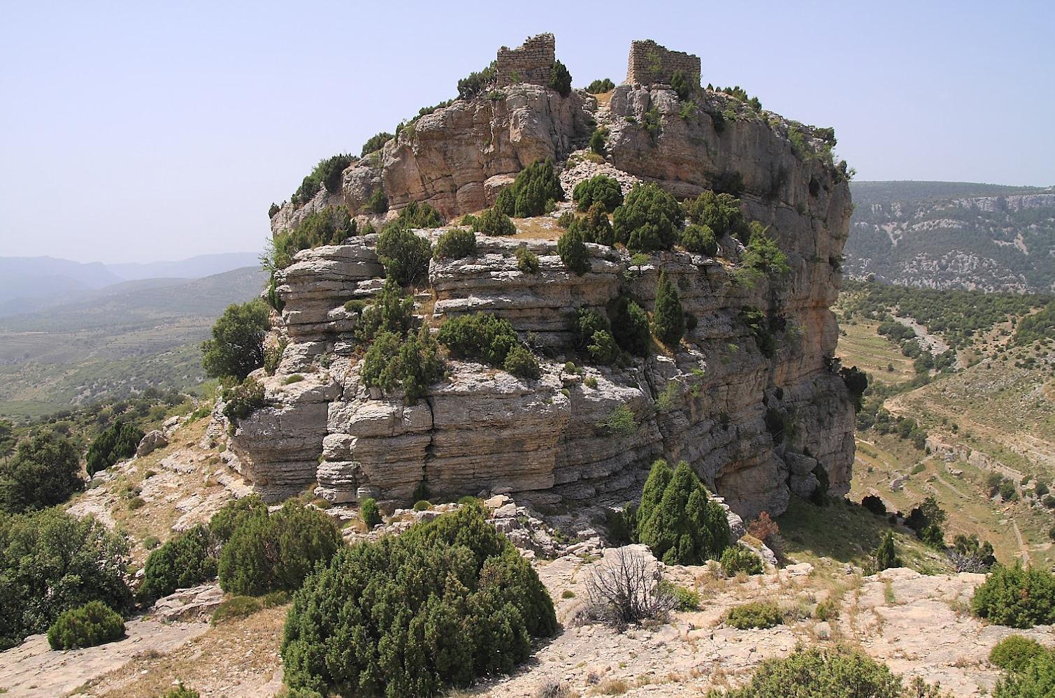 Castell de Corbó. Autor, J. Serrador
