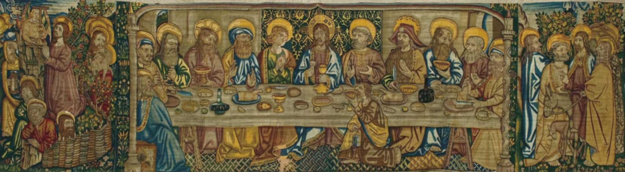 El Tapiz de la Santa Cena de la catedral de Tortosa. Autor, laluzdelasimagenes.net
