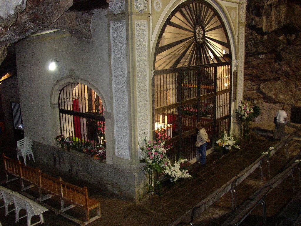 Santuario de la Virgen de la Cueva Santa. Autor, desconocido
