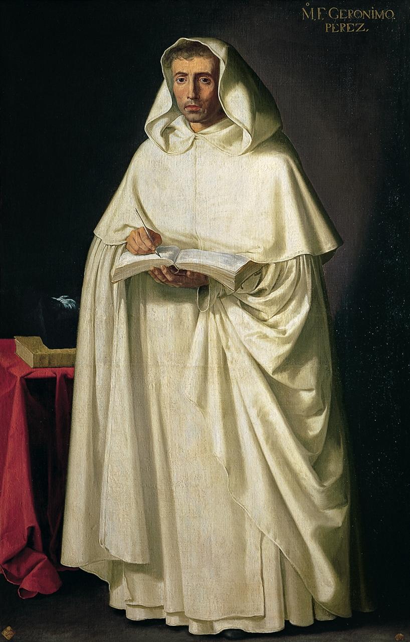 Fray Jerónimo Pérez. Oleo sobre lienzo. Francisco de Zurbarán, 1632