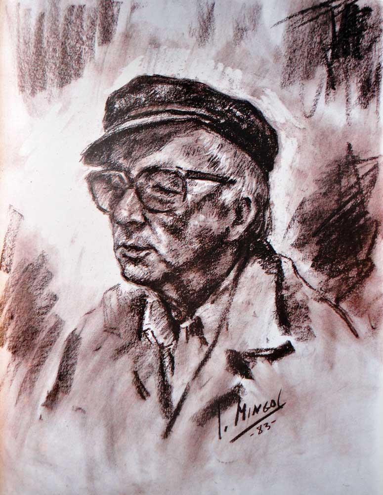 Miquel Peris. Retrato de Mingol