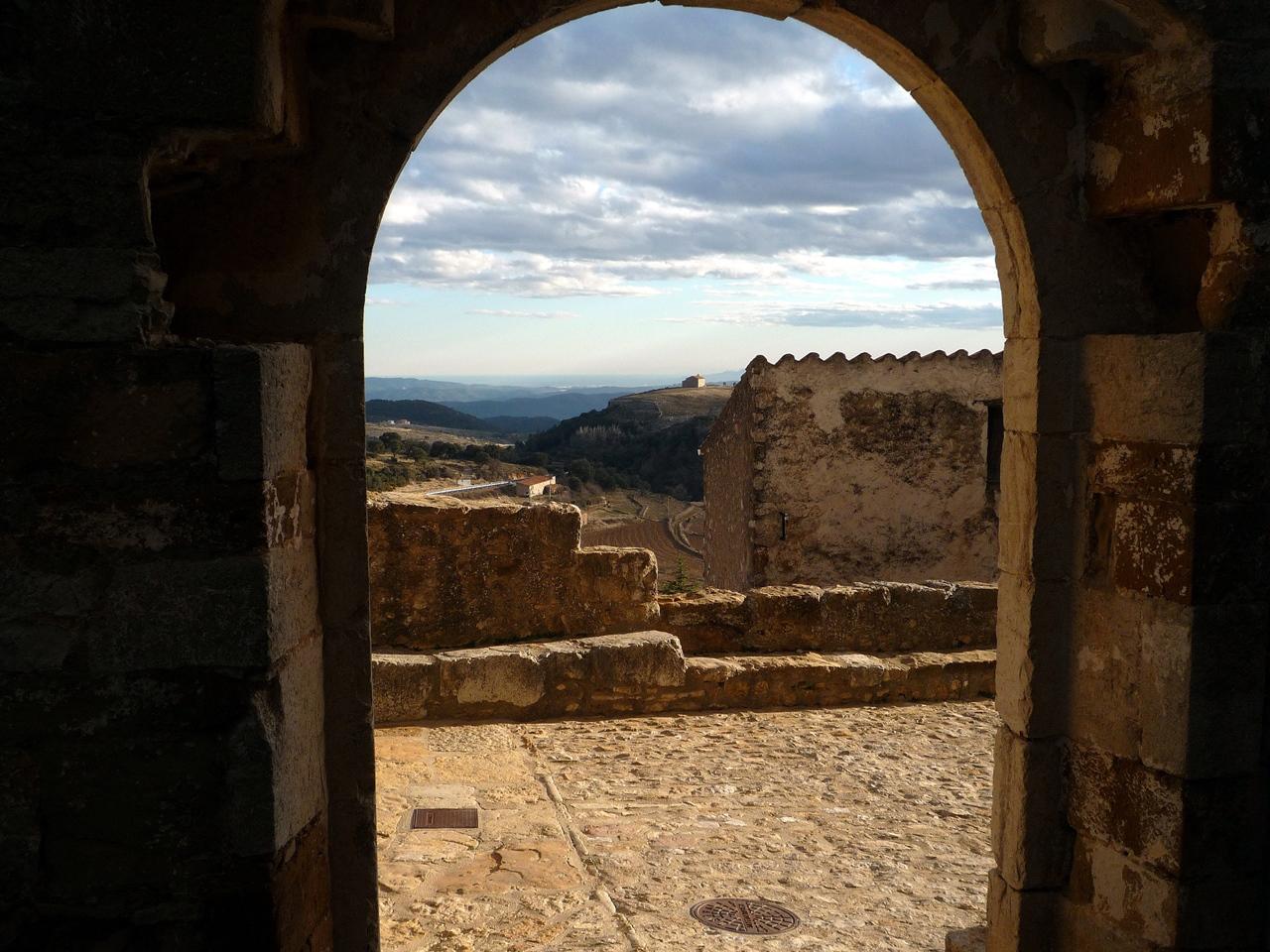 Vista desde el castillo de Culla. Autor, jose luis gil