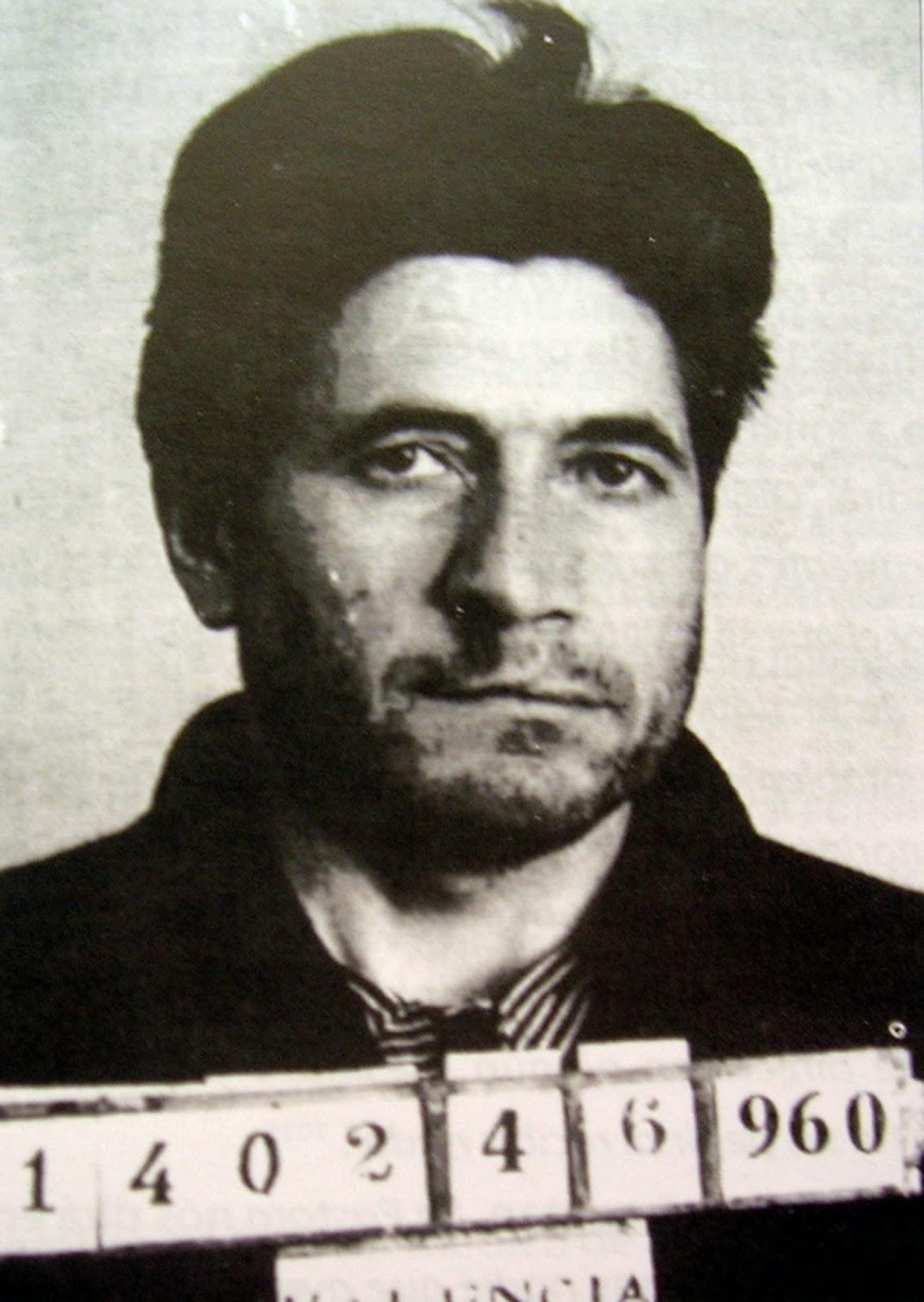 Ficha policial de Florencio Pla fechada en 1960