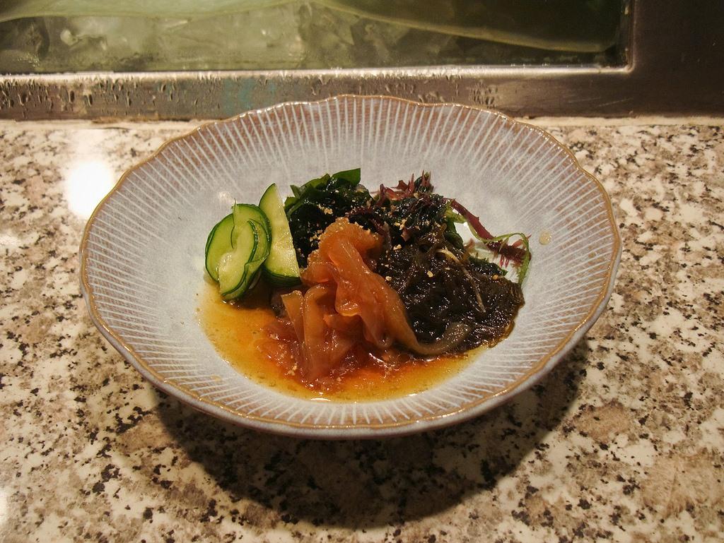 3. Ensalada japonesa de medusa y algas. Autor, Jose Wolff