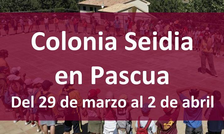 colonia campamento niños Seidia en pascua Castellón Semana Santa España