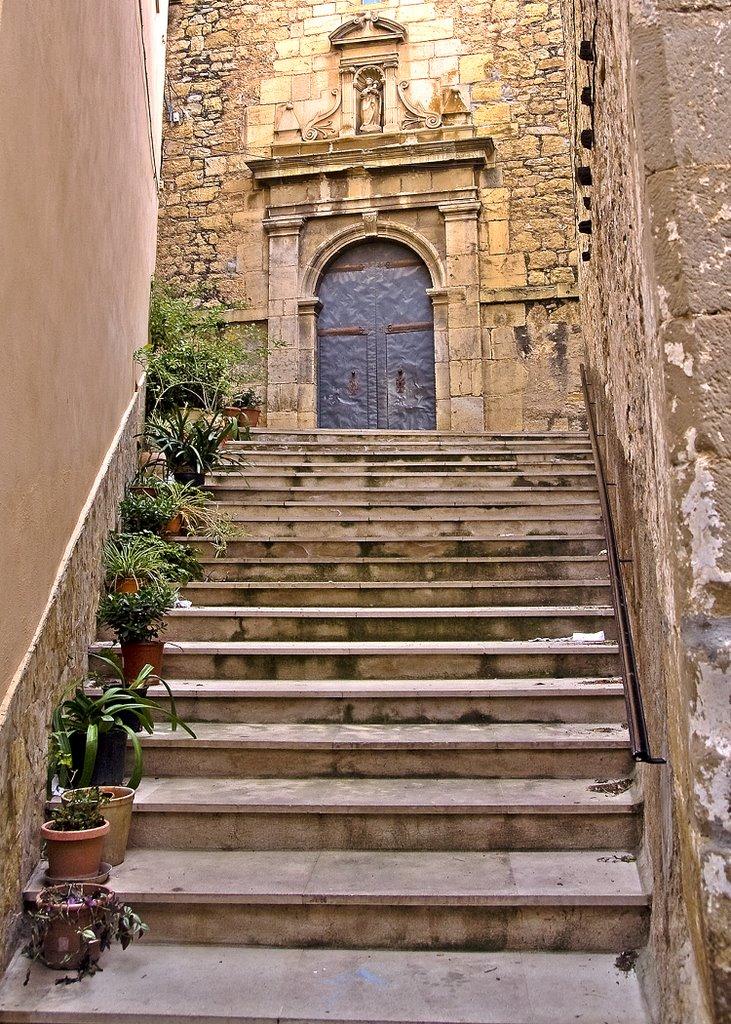 Puerta de la iglesia Parroquial de la Asunción. Autor, Llmcs