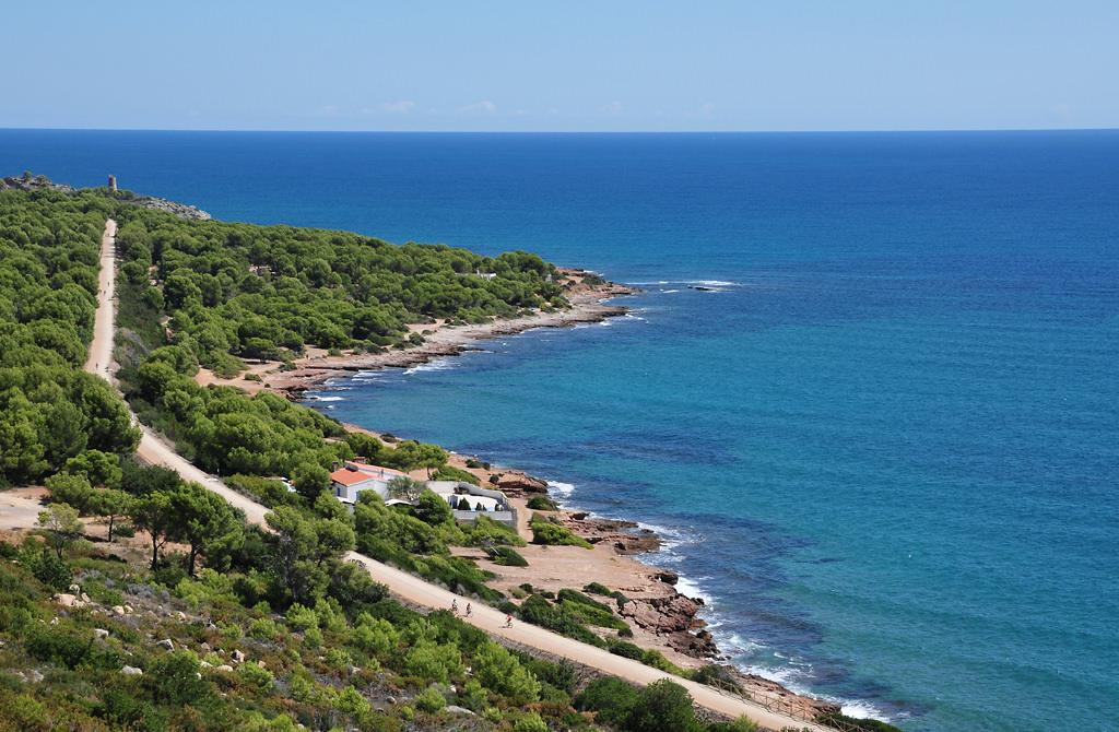 Vía Verde a su paso por Oropesa. Autor, Turismo de Castellón