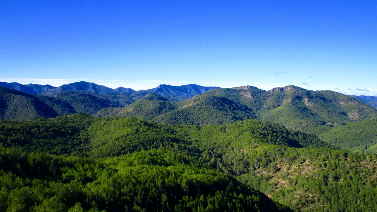 Vista de Espadán. Autor, Manel