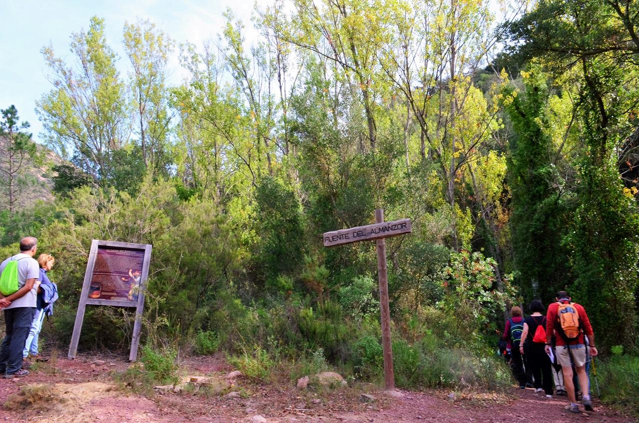 Ruta por el barranco de Almanzor en Almedíjar 2