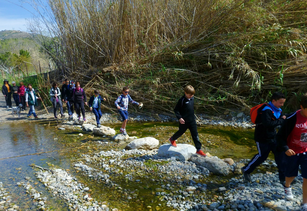 Ruta por el río Lucena en Figueroles