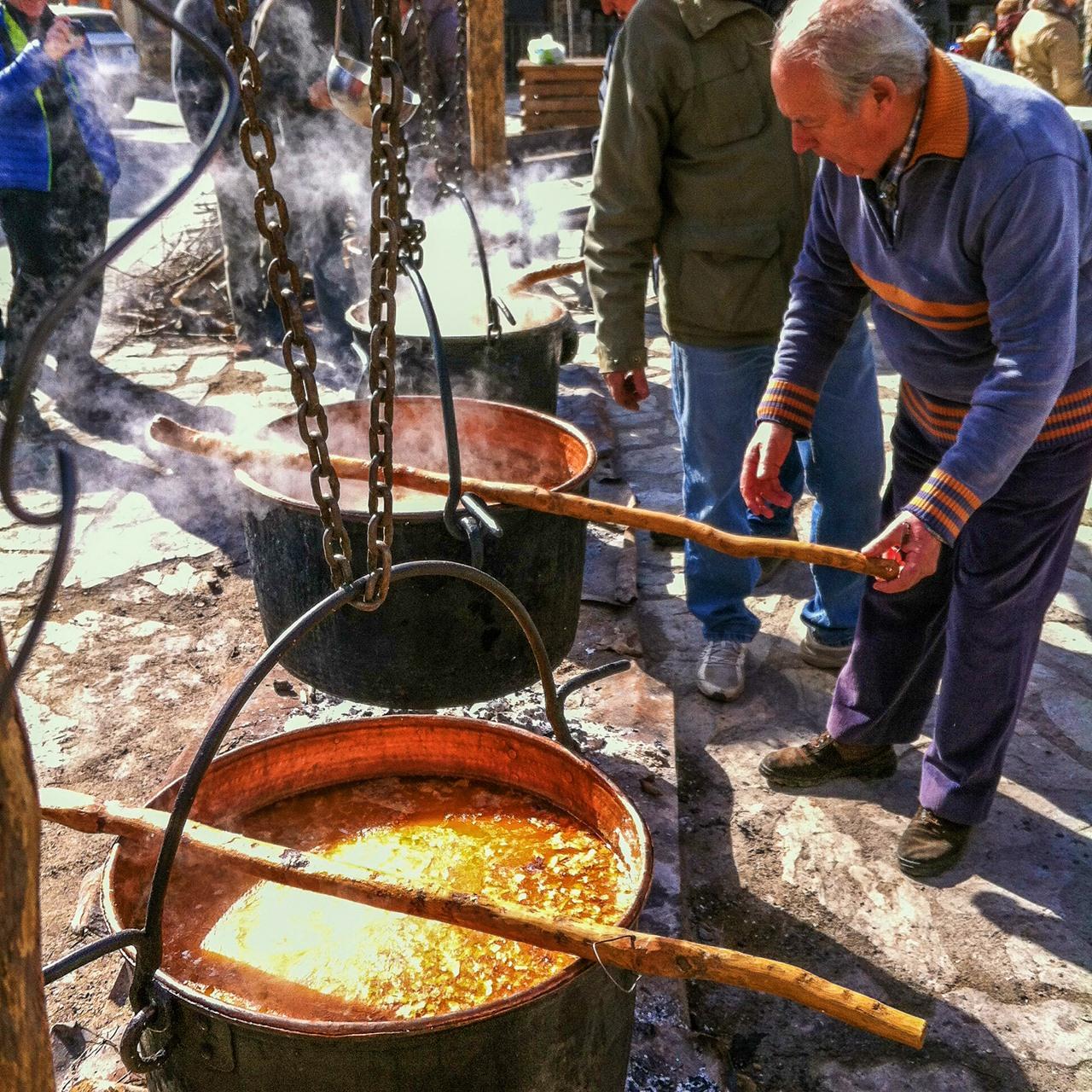 Preparando farinetes