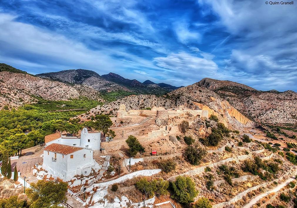 Castell Vell y ermita de La Magdalena. Autor, Quim Granell