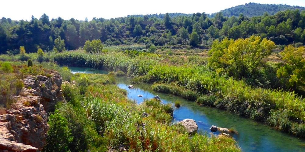 Rio Mijares Fanzara Castellón Comunidad Valenciana
