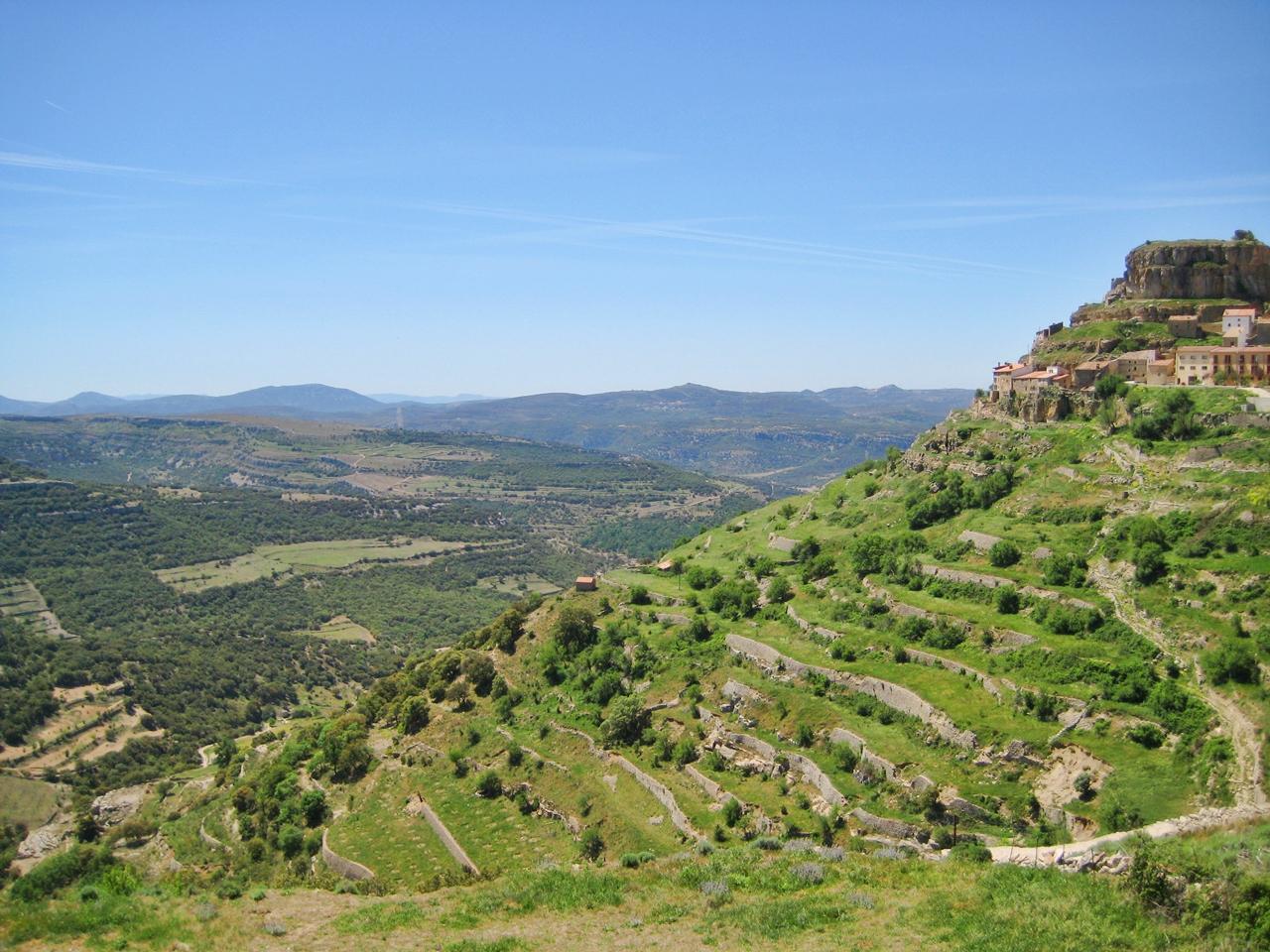 Vista desde Ares del Maestrat