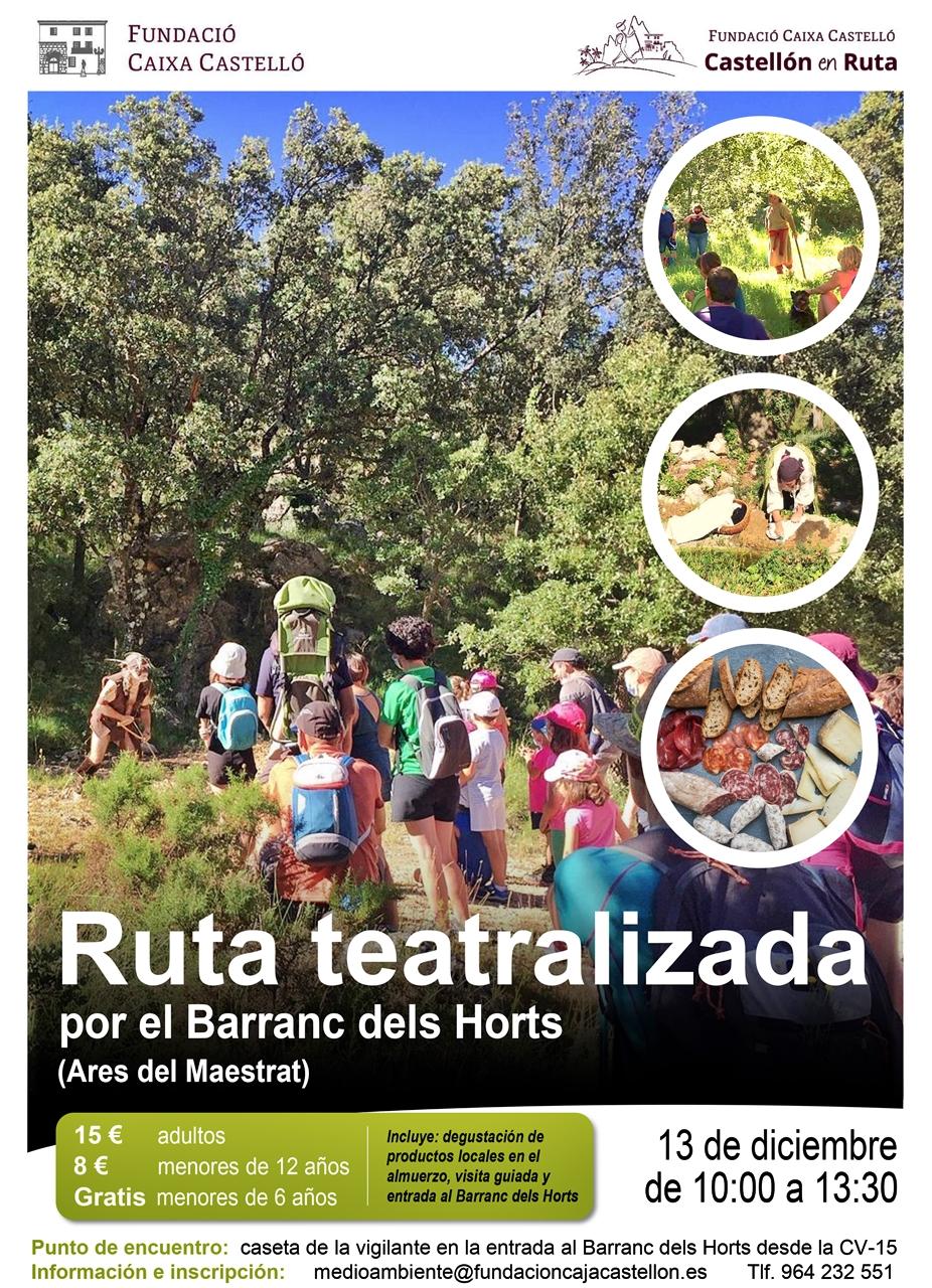 ruta teatralizada barranc horts castellon