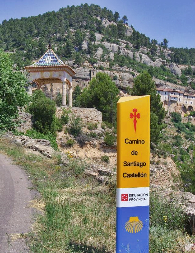 camino santiago castellon